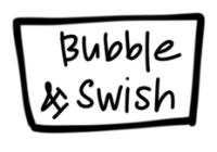 Bubble & Swish Silicone Coaster Mat