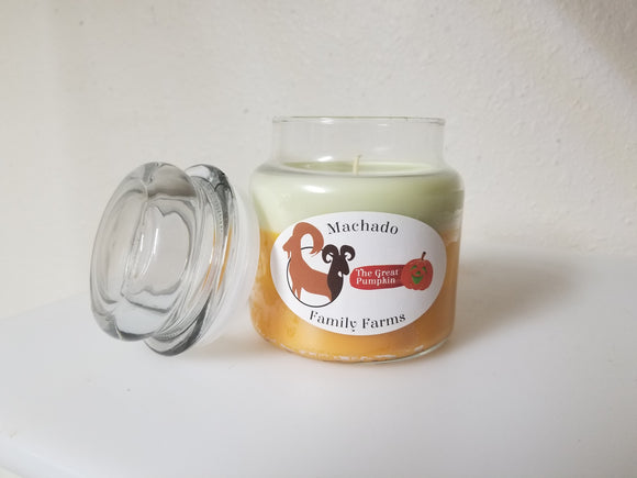 The Great Pumpkin medium candle - Machado Family Farm