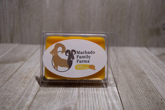 Pumpkin Caramel Crunch Wax Melt - Machado Family Farm