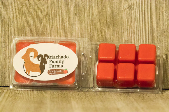 Macintosh Apple Wax Melt - Machado Family Farm