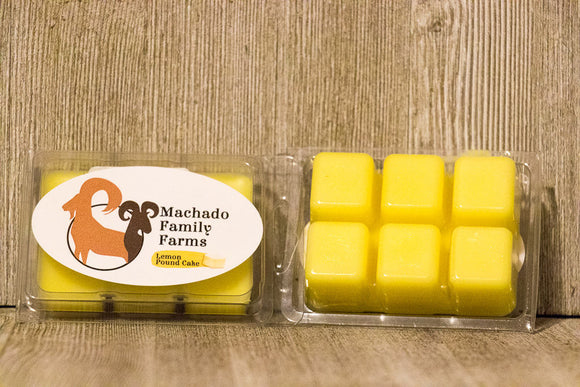 Lemon Pound Cake Wax Melt - Machado Family Farm