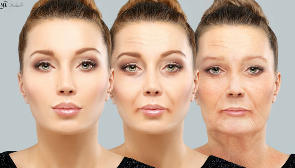 Anti wrinkles youthful skin