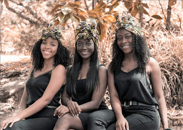 Three young black women business owners | ML Delicate Beauty