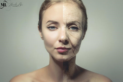 Comparison of a young and aging woman | ML Delicate Beauty