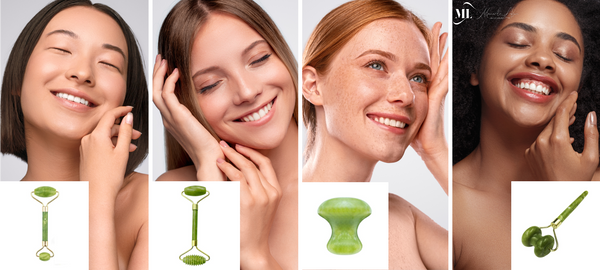 Best Jade Roller and Gua Sha Scraper Massager Tool