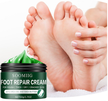 Foot Cream Repair: Healing Ointment for Cracked Heels and Dry Feet