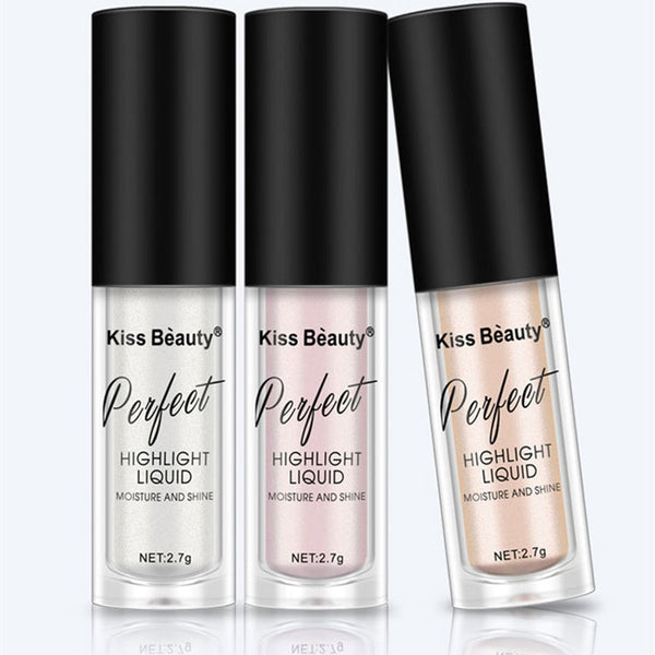 Liquid Highlighter Makeup Set Shimmer