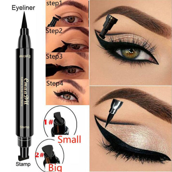 Dual Ended Winged Eyeliner Stamp Waterproof