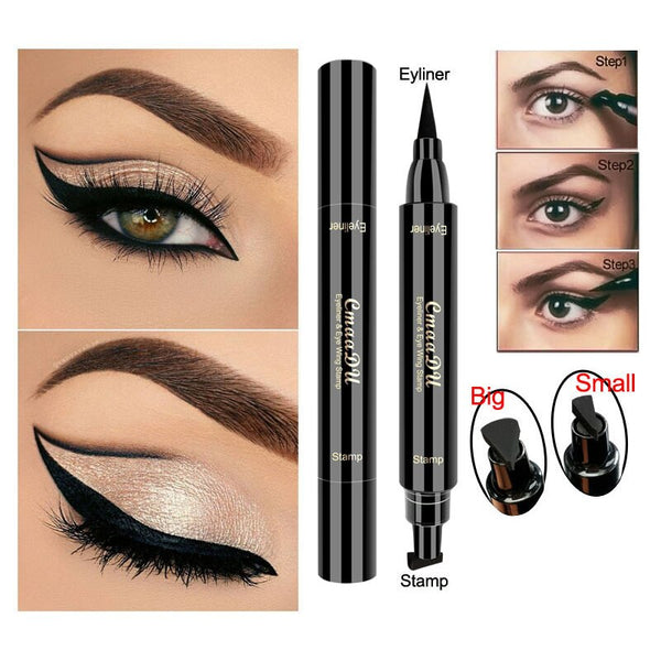 Eye Makeup Seal Stamp Tool for Wing or Cat Eye