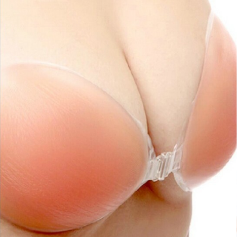 Breast Lift Invisible Self-Adhesive Strapless Bra