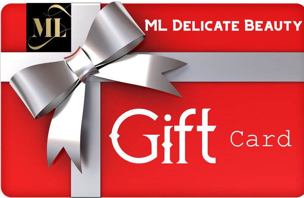 Beauty skincare products Gift Card | ML Delicate Beauty