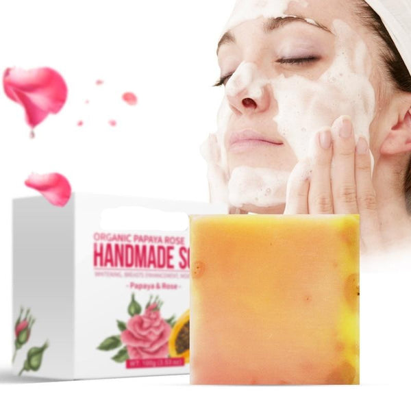 Handmade Soap Organic Body Face Cleanser - 50% OFF Today