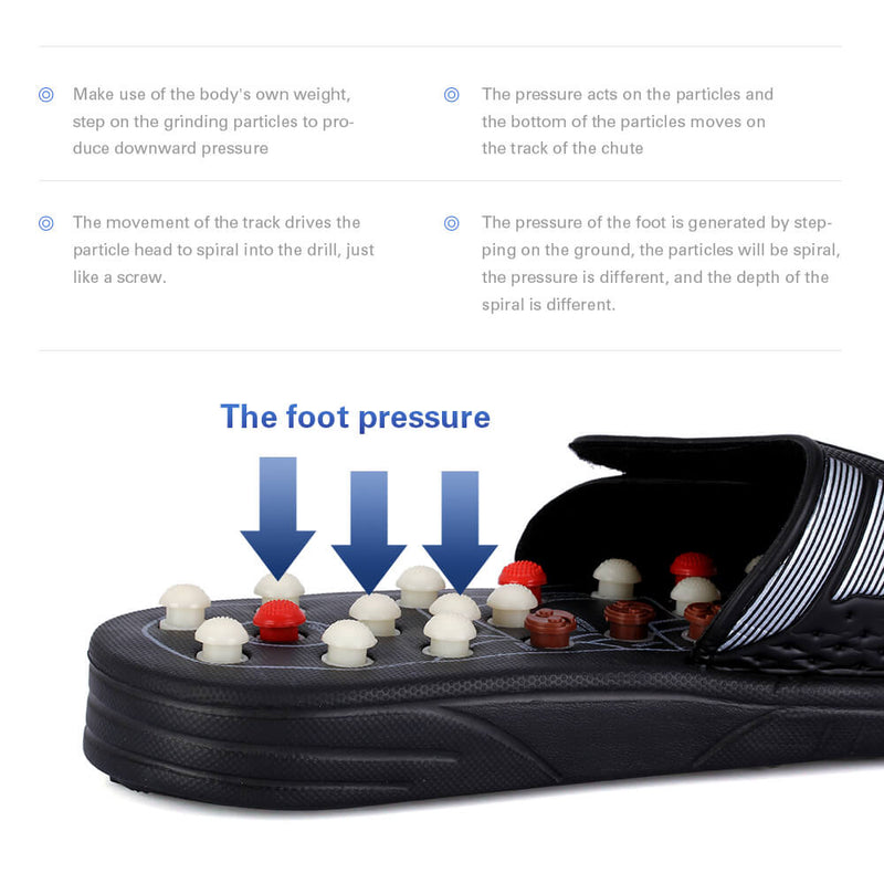 Shoes Acupuncture Cobblestone Massageador Sandal
