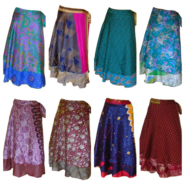 Packs 5 or 10, Magic Wrap Skirts Plus Size Troupe Discounts