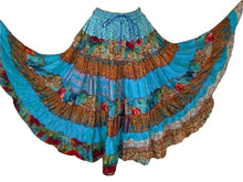 Hippie Silk Blended Frill Skirt - Pack Sets