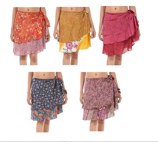 Magic Wrap Skirts Mini