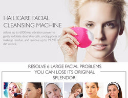 Electric Facial Cleaning Brush Skin Face Care