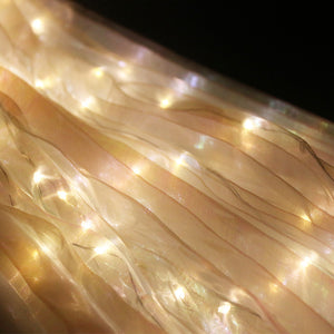 LED Light Isis Wings Belly Dance Costumes With Sticks