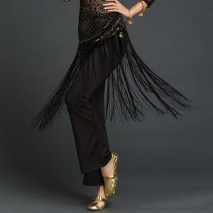Tribal Tassel Hip Scarf Wrap Belt Skirt Fringes
