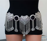 NEW ARRIVAL! Master belly dance belt coins belly dance hip scarf