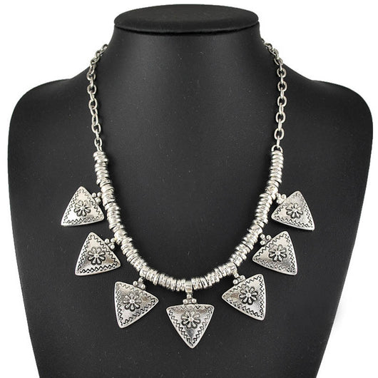 Retro Punk Tribal Ethnic Necklace