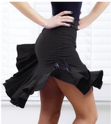 Square dance dancing skirt black body skirts Latin dance skirt