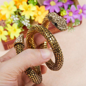 Belly Dance Costume Dancing Jewellery Snake Wrist Accessories Gold/silver