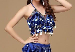 Sparkling Choli Bra Top for Bellydance