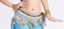 Belly dance costumes velvet hip scarf for women