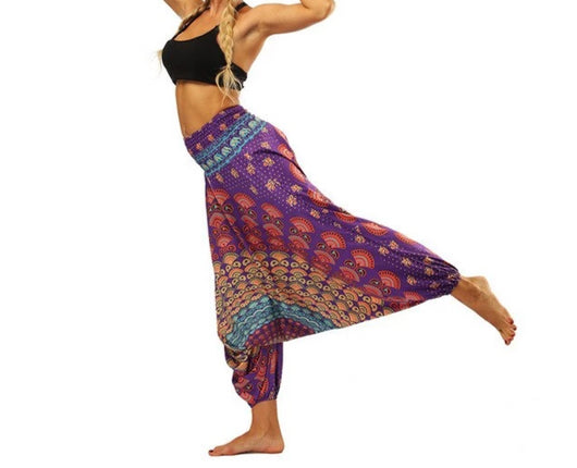 Harem Pants Women Belly Dance Pants Indian Tribal Style