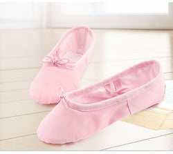 Kids Ballet Shoes Canvas Dance Slippers Girls Children Ballerina Practice Shoes