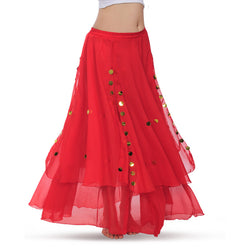 2018 New design bellydancing skirt belly dance skirts