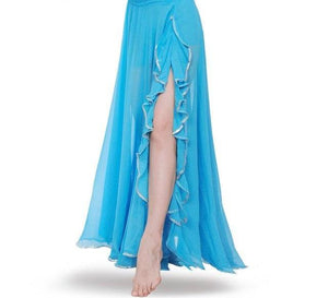 High quality New bellydancing skirts belly dance frill skirt costume