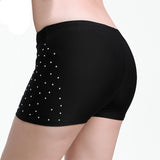 Belly Dance Costume Woman Under Pant Rhinestone Safety Short Pants