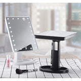 LED Touch Makeup Vanity Mirror Table Desktop 10X Magnifying Folding