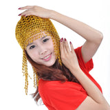 Belly Dance Headpiece Headwear Cap Hat Fancy Dress Costume