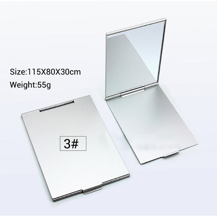 Ultra-thin Makeup Mirror Foldable Compact Makeup Folding Mirrors