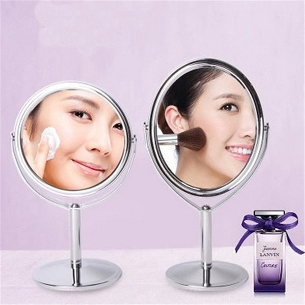 Makeup Mirror Normal and Magnifying Double