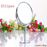 Portable Women Beauty Makeup Mirror and Magnifying Double-sided Mirror