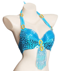 New Women's  costume belly dancing BRA Top