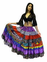 Banjara Gypsy Hippie Frill Skirts - COLOURFULL SHADES - offer week