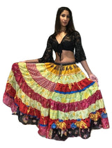 Banjara Gypsy Hippie Frill Skirts - COLOURFULL SHADES