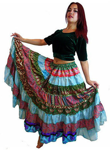 9m Hippie Spanish Skirts