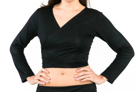 Long Sleeved Cotton Belly Dance Top