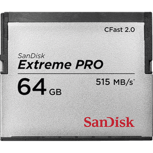 Accessories - SanDisk Extreme Pro 64GB CFast 2.0 Card