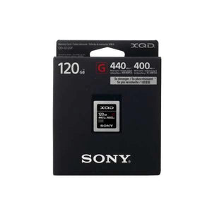 Accessories - Sony XQD G Series 120GB Memory Card
