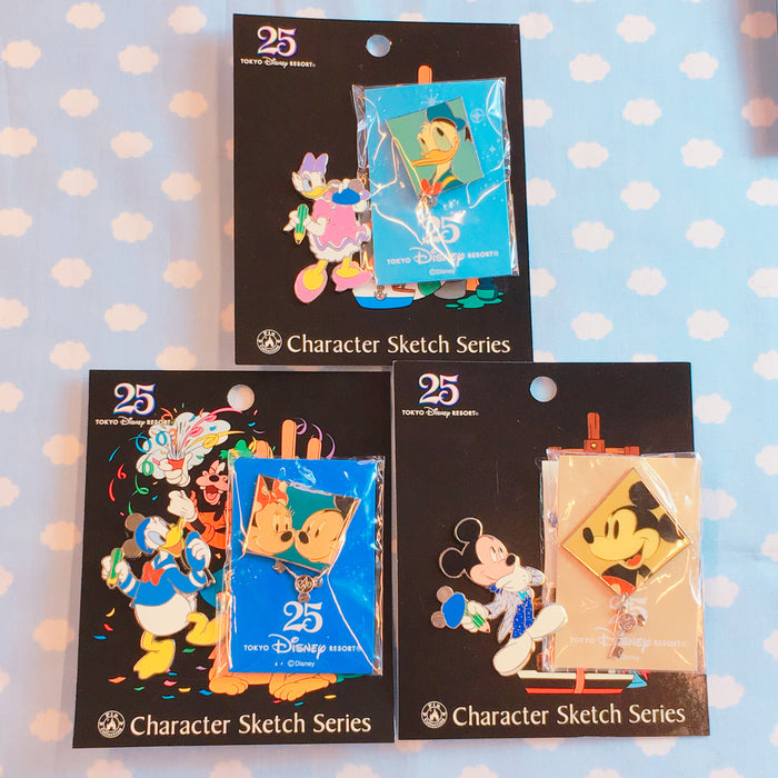 TDR 25th Anniversary Pin