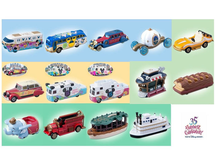TDR 35th Anniversary TOMICA Collection