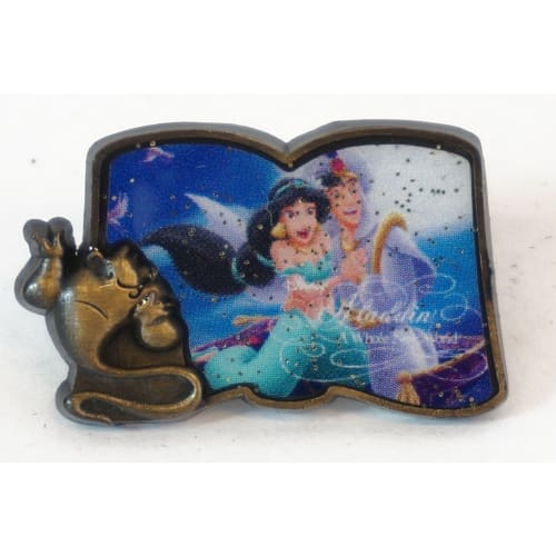 Disney D23 Expo Japan 2018 Pin Alan Menken Music Each Sell Aladdin Jasmine - K23Japan -Tokyo Shopper-