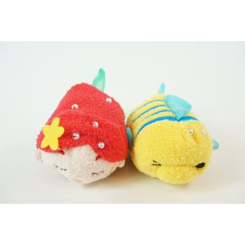 Disney D23 Expo Japan 2018 Tsum Princess Ariel Flounder By Alan Menken - K23Japan -Tokyo Shopper-